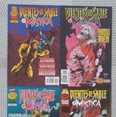 Cómics: DIENTES DE SABLE Y MISTICA. SL COMPLETA DE 4 COMICS. COMICS FORUM 1997. Lote 222426652