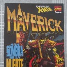 Cómics: MAVERICK. A LA SOMBRA DE LA MUERTE. NUMERO UNICO. COMICS FORUM 1997. Lote 222431435