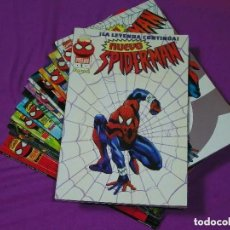 Cómics: SPIDERMAN VOL. 3 / NUEVO SPIDERMAN - LOMO NEGRO (1996-1998) COMPLETA 12 TOMOS DE 128 PAGS. Lote 222435627