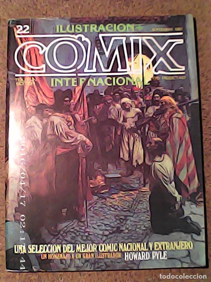COMIC DE ILUSTRACION COMIX INTERNACIONAL Nº 22 (Tebeos y Comics - Forum - Otros Forum)