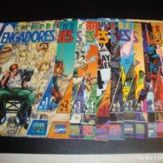 Cómics: SIEMPRE VENGADORES COMPLETA 12 NUMEROS. Lote 222460601