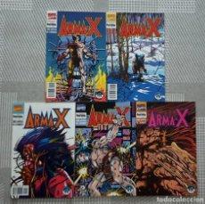 Cómics: ARMA-X DE BARRY WINDSOR SMITH Y CHRIS CLAREMONT. SL DE 5 COMICS. FORUM 1992. Lote 222467707