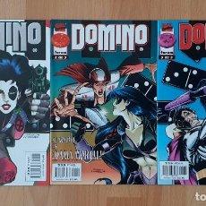 Cómics: DOMINO. SL COMPLETA DE 3 COMICS. COMICS FORUM 1997. Lote 222527917