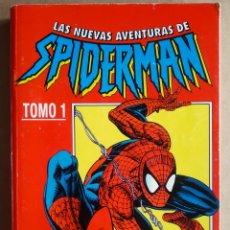 Cómics: RETAPADO LAS NUEVAS AVENTURAS DE SPIDERMAN TOMO 1: NÚMEROS 1-2-3-4-5-6-8-8 (CÓMICS FORUM, 1996).. Lote 222556817