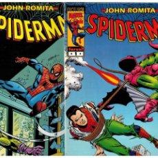 Cómics: JOHN ROMITA SPIDERMAN -DEL 1 AL 57 + 6 ESPECIALES- FORUM. NUEVOS. LEER. Lote 222567752