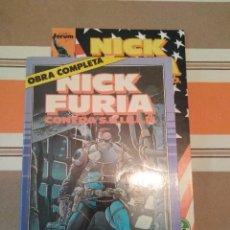 Cómics: NICK FURIA CONTRA SHIELD OBRA COMPLETA - COMIC MARVEL FORUM. Lote 222584338