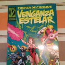 Cómics: FUERZA DE CHOQUE VENGANZA ESTELAR - COMIC MARVEL FORUM. Lote 222587125