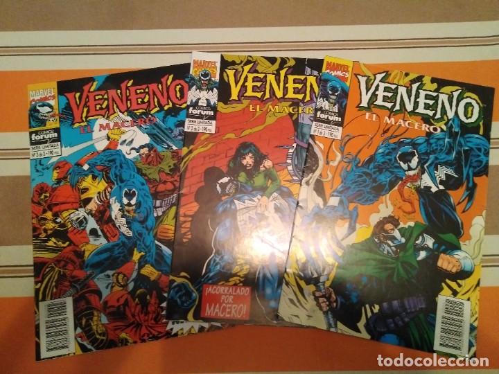 VENENO EL MACERO - SPIDERMAN COMIC MARVEL FORUM (Tebeos y Comics - Forum - Spiderman)
