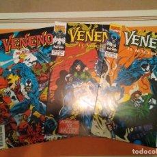 Cómics: VENENO EL MACERO - SPIDERMAN COMIC MARVEL FORUM. Lote 222588916