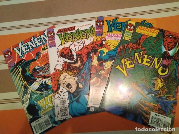 VENENO MATANZA DESENCADENADO COMPLETA - SPIDERMAN COMIC MARVEL FORUM (Tebeos y Comics - Forum - Spiderman)