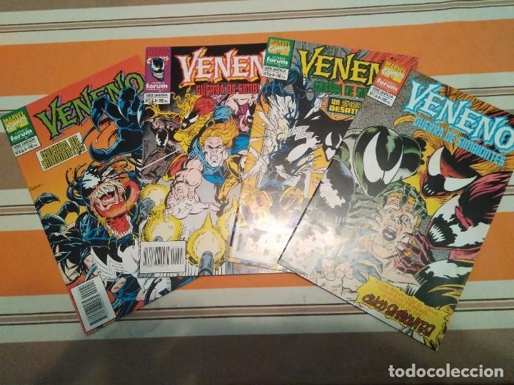 VENENO GUERRA DE SIMBIONTES COMPLETA - SPIDERMAN COMIC MARVEL FORUM (Tebeos y Comics - Forum - Spiderman)