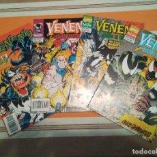 Cómics: VENENO GUERRA DE SIMBIONTES COMPLETA - SPIDERMAN COMIC MARVEL FORUM. Lote 222589382