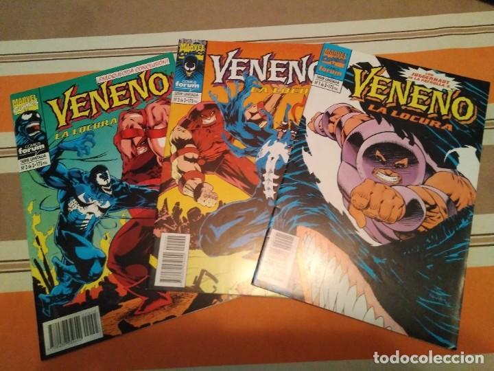 VENENO LA LOCURA COMPLETA - SPIDERMAN COMIC MARVEL FORUM (Tebeos y Comics - Forum - Spiderman)