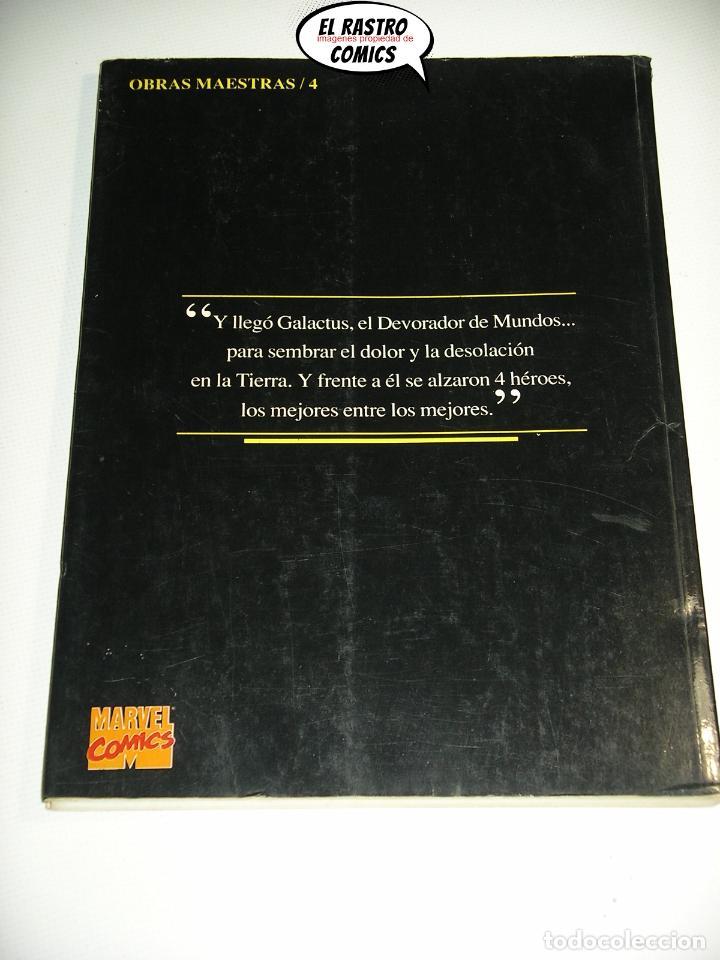 Cómics: Los 4 Fantásticos, El juicio de Galactus, John Byrne, Obras maestras nº 4, Forum 1992, tomo prestige - Foto 2 - 222604623