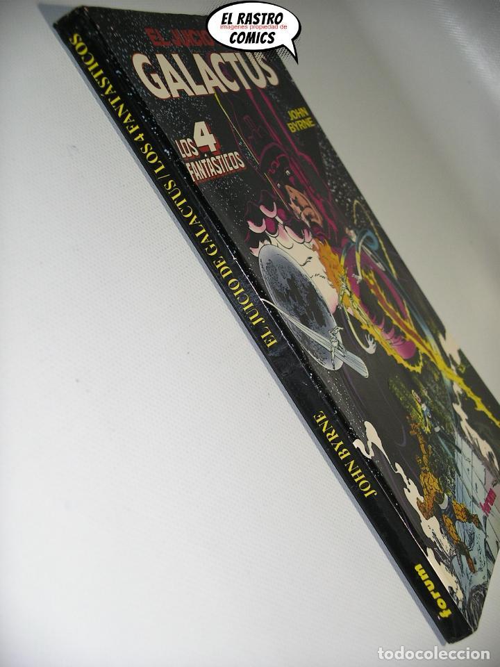 Cómics: Los 4 Fantásticos, El juicio de Galactus, John Byrne, Obras maestras nº 4, Forum 1992, tomo prestige - Foto 3 - 222604623