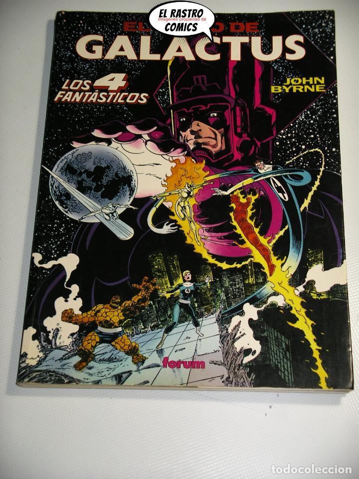 LOS 4 FANTÁSTICOS, EL JUICIO DE GALACTUS, JOHN BYRNE, OBRAS MAESTRAS Nº 4, FORUM 1992, TOMO PRESTIGE (Tebeos y Comics - Forum - 4 Fantásticos)