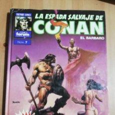 Cómics: LA ESPADA SALVAJE DE CONAN EL BARBARO. EL COLOSO NEGRO. Lote 222604936