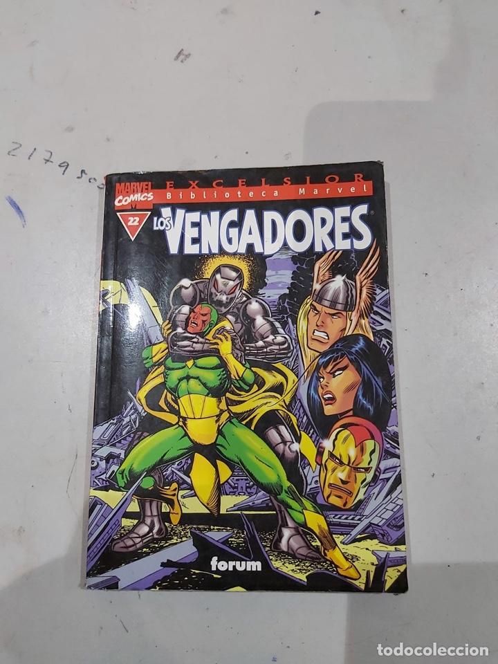 Cómics: LOS VENGADORES, EXCELSIOR BIBLIOTECA MARVEL - LOTE DE 11 EJEMPLARES - Foto 5 - 222637600