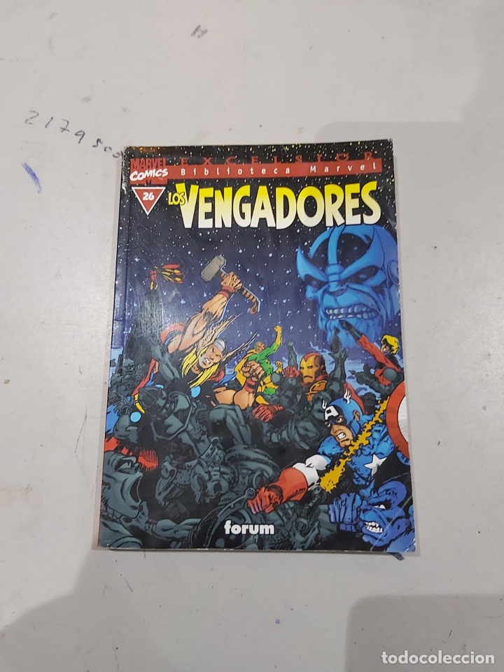 Cómics: LOS VENGADORES, EXCELSIOR BIBLIOTECA MARVEL - LOTE DE 11 EJEMPLARES - Foto 8 - 222637600