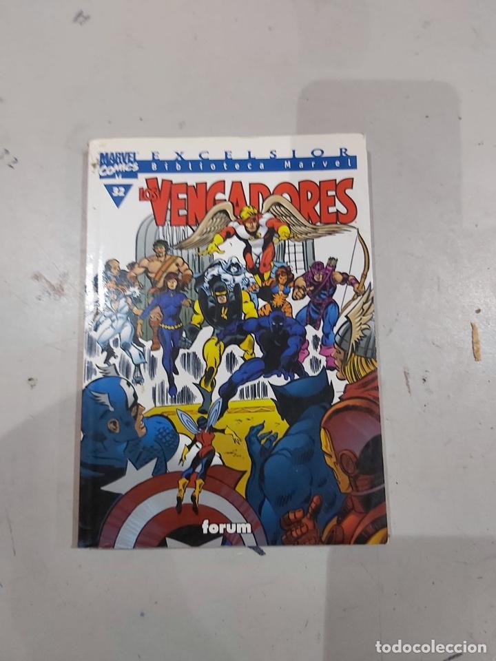 Cómics: LOS VENGADORES, EXCELSIOR BIBLIOTECA MARVEL - LOTE DE 11 EJEMPLARES - Foto 9 - 222637600