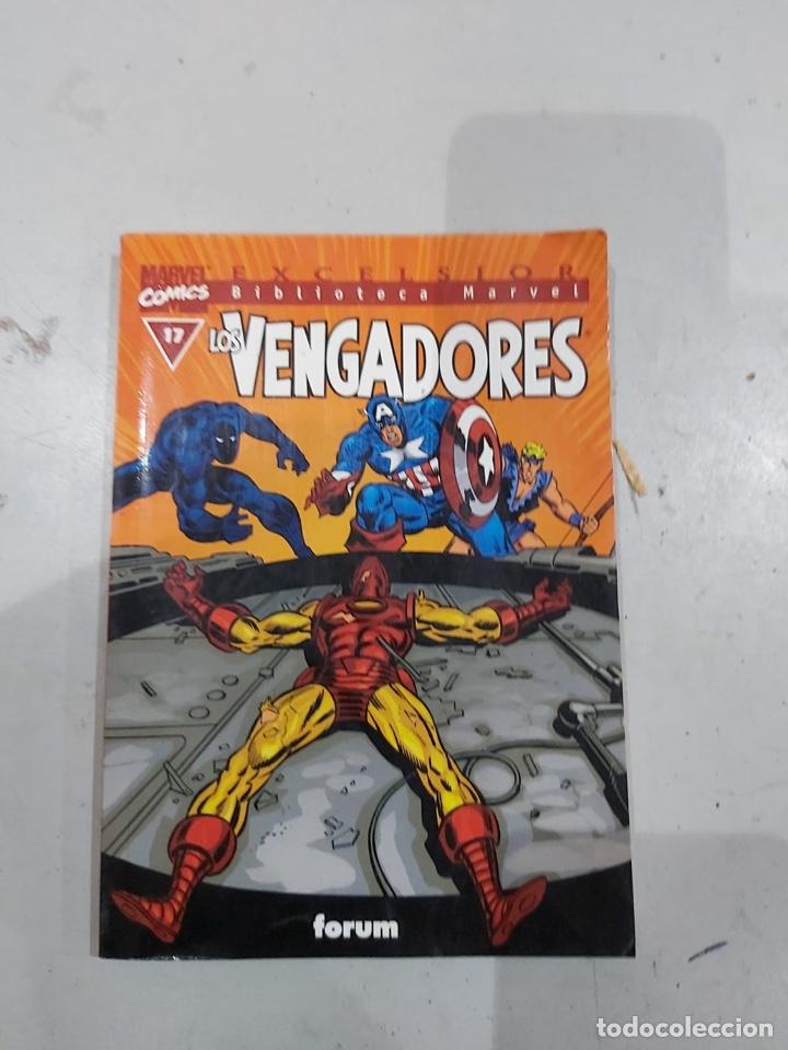 Cómics: LOS VENGADORES, EXCELSIOR BIBLIOTECA MARVEL - LOTE DE 11 EJEMPLARES - Foto 12 - 222637600