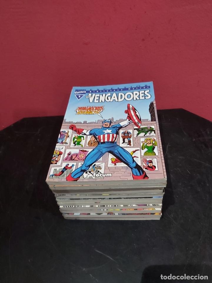 LOS VENGADORES, EXCELSIOR BIBLIOTECA MARVEL - LOTE DE 11 EJEMPLARES (Tebeos y Comics - Forum - Vengadores)