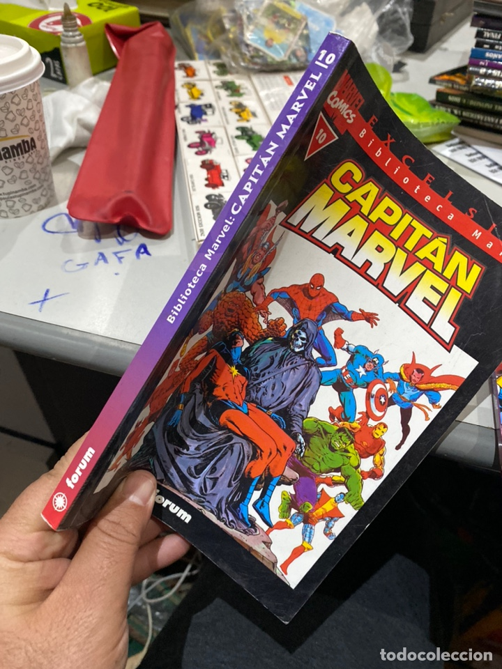 Cómics: Lote de 3 cómics Biblioteca Marvel Capitán Marvel - Foto 3 - 222640702