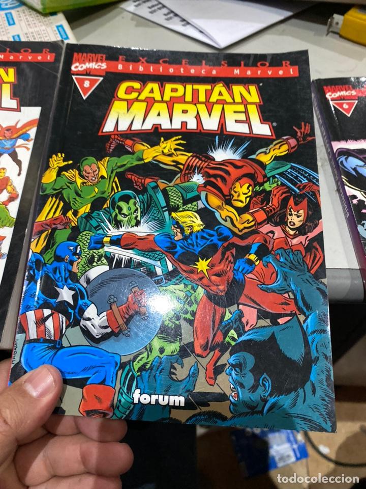 Cómics: Lote de 3 cómics Biblioteca Marvel Capitán Marvel - Foto 4 - 222640702