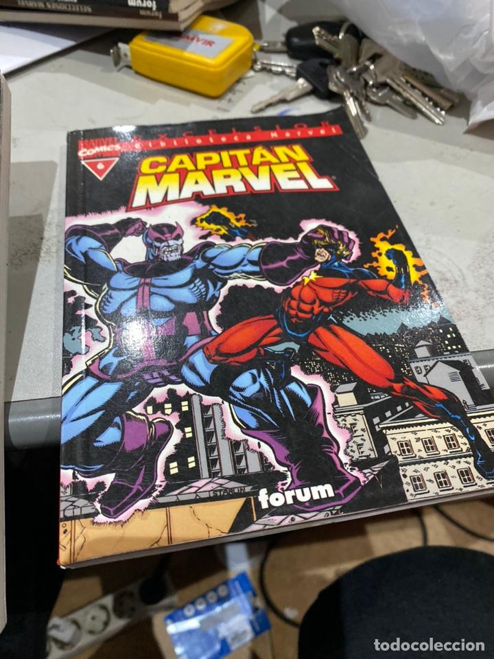 Cómics: Lote de 3 cómics Biblioteca Marvel Capitán Marvel - Foto 5 - 222640702