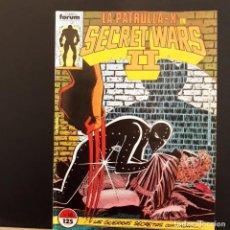 Cómics: LA PATRULLA X EN SECRET WARS II Nº 16 COMICS FORUM MARVEL. Lote 222646370