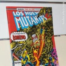 Cómics: MARVEL TWO-IN-ONE PRESENTA LOS NUEVOS MUTANTES Nº 46 CON LOBEZNO - FORUM OFERTA. Lote 222701531