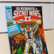 Cómics: LOS MICRONAUTAS EN SECRET WARS II Nº 37 - FORUM OFERTA. Lote 222706833