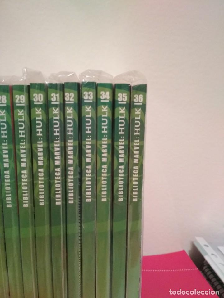 Cómics: Biblioteca marvel EL INCREIBLE HULK COMPLETA envio economico 36 TOMOS planeta forum y panini fotos - Foto 4 - 222717788