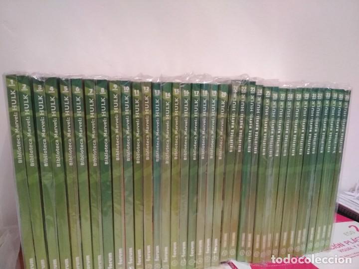 Cómics: Biblioteca marvel EL INCREIBLE HULK COMPLETA envio economico 36 TOMOS planeta forum y panini fotos - Foto 5 - 222717788