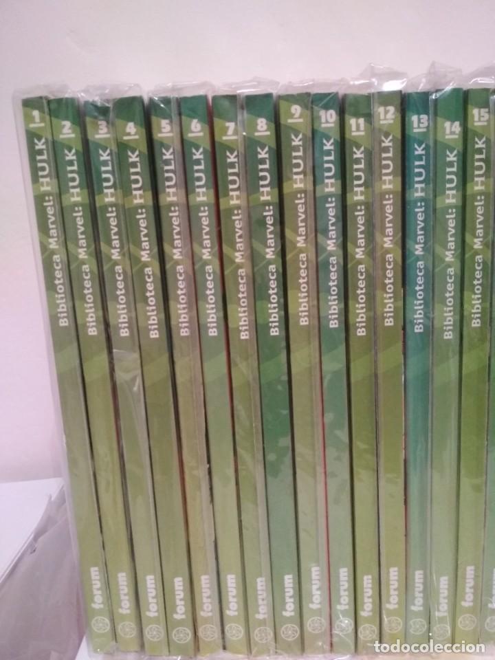 Cómics: Biblioteca marvel EL INCREIBLE HULK COMPLETA envio economico 36 TOMOS planeta forum y panini fotos - Foto 2 - 222717788