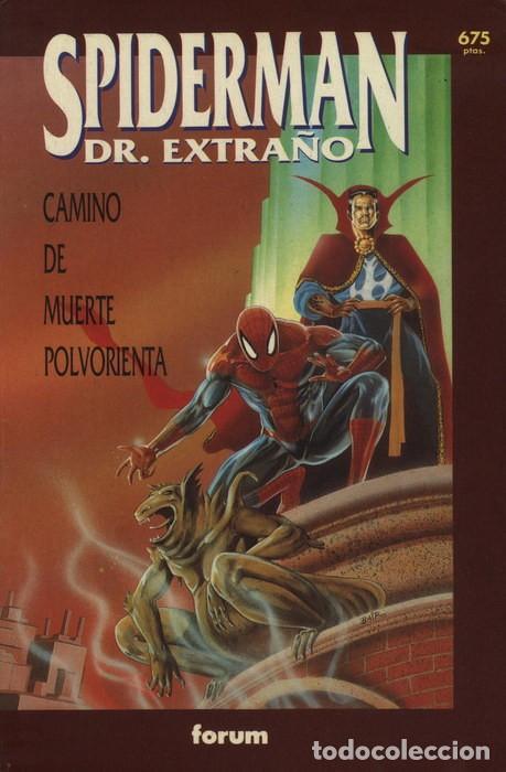 SPIDERMAN-DR. EXTRAÑO: CAMINO DE MUERTE POLVORIENTA. COLECCIÓN PRESTIGIO VOL.1 Nº 61 - FORUM. (Tebeos y Comics - Forum - Spiderman)