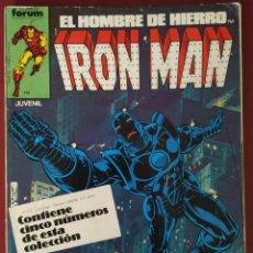 Cómics: IRON MAN 6-7-8-9-10 AÑO 1981. Lote 222823495