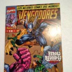 Cómics: LOS VENGADORES 12 HEROES REUNIDOS PARTE 2. Lote 222838718