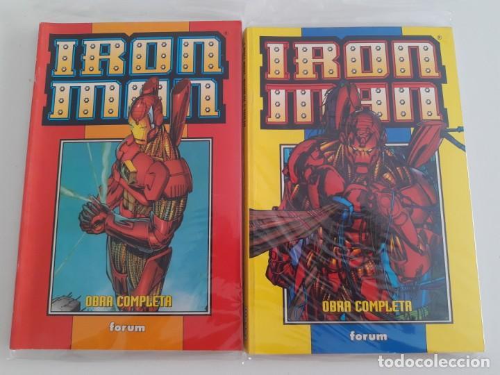 IRON MAN. HEROES REBORN. COMPLETA EN RETAPADOS (Tebeos y Comics - Forum - Retapados)