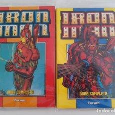 Cómics: IRON MAN. HEROES REBORN. COMPLETA EN RETAPADOS. Lote 222890865