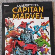 Cómics: LA MUERTE DEL CAPITAN MARVEL COMICS FORUM. Lote 222958210