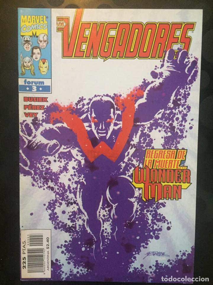 LOS VENGADORES VOL.3 N.3 REGRESA DE LA MUERTE WONDERMAN ( 1998/2005 ). (Tebeos y Comics - Forum - Vengadores)