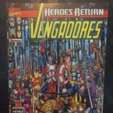 Comics: LOS VENGADORES VOL.3 N.2 HÉROES RETURN : LA LLAMADA PARTE 2 ( 1998/2005 ).. Lote 223006306
