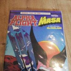 Fumetti: ALPHA FLIGHT LA MASA 55 - FORUM - LOBEZNO VS HULK - MCFARLANE. Lote 223243915