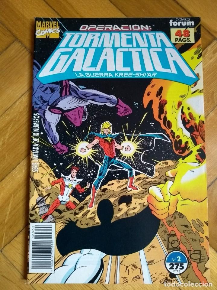 OPERACIÓN TORMENTA GALÁCTICA Nº 2 (Tebeos y Comics - Forum - Vengadores)