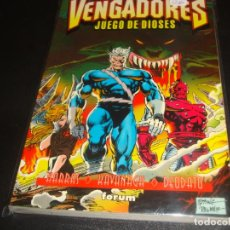 Cómics: VENGADORES JUEGOS DE DIOSES. Lote 223335705
