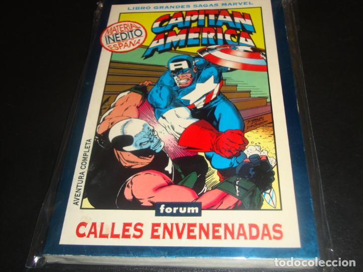 LIBRO GRANDES SAGAS MARVEL CAPITAN AMERICA CALLES ENVENADAS (Tebeos y Comics - Forum - Vengadores)