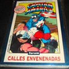 Cómics: LIBRO GRANDES SAGAS MARVEL CAPITAN AMERICA CALLES ENVENADAS. Lote 223340117