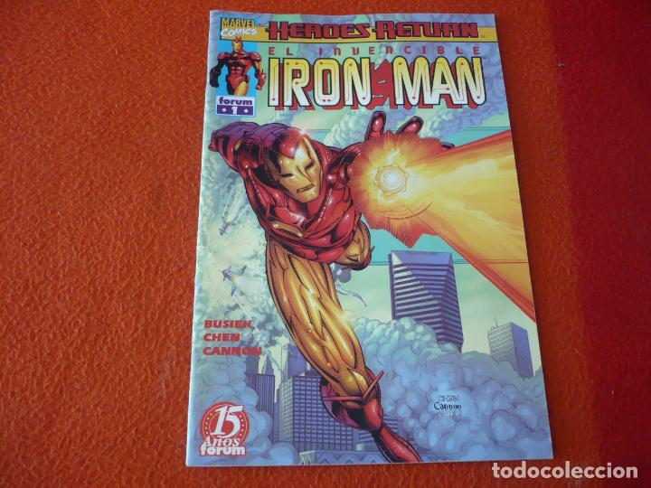 IRON MAN VOL. 4 Nº 1 HEROES RETURN ( BUSIEK CHEN ) ¡BUEN ESTADO! MARVEL FORUM (Tebeos y Comics - Forum - Iron Man)