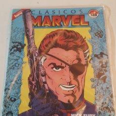 Comics: CLASICOS MARVEL N° 6 FORUM NICK FURY. Lote 223392430